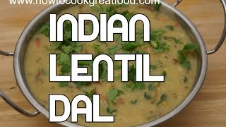 Dal Recipe - Indian Spicy Vegan Lentils - Dhal Dall Dhall Video