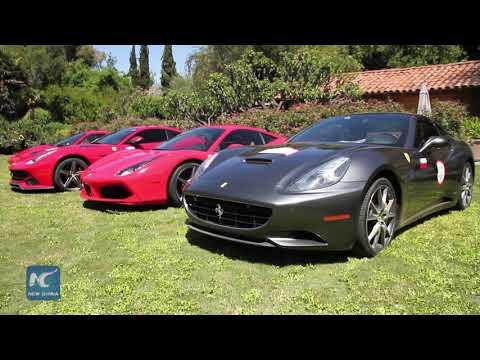 Chile welcomes milestone event for Ferrari