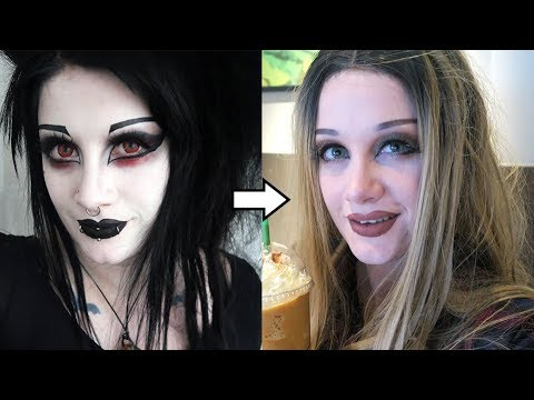 Goth to Basic White Girl Transformation | Black Friday