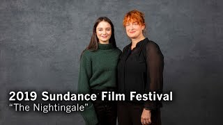 Jennifer Kent And Aisling Franciosi Of 'The Nightingale'