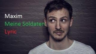 Maxim-Meine Soldaten Lyric