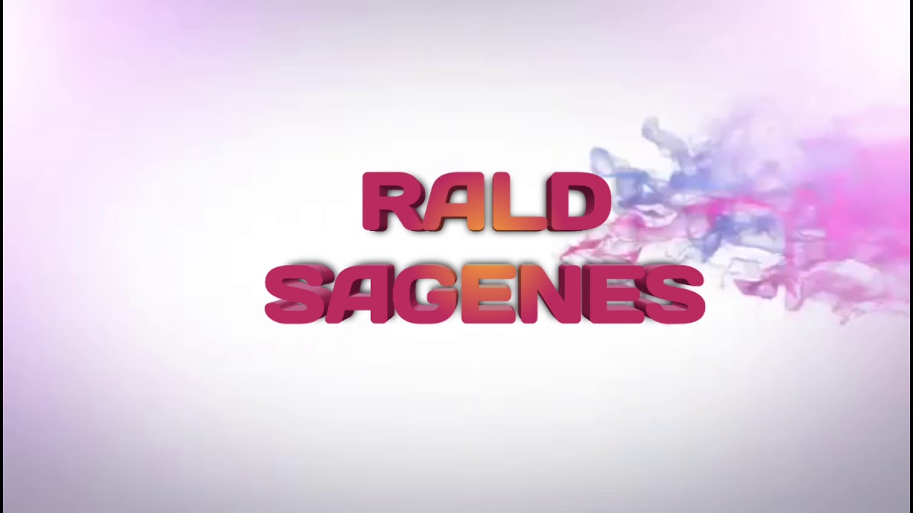 YOUTUBE INTRO: Rald Sagenes🔥