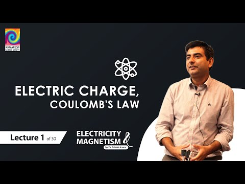 Electricity & Magnetism (Lecture 1 of 30) Fall 2015 - Electric charge, Coulomb's law