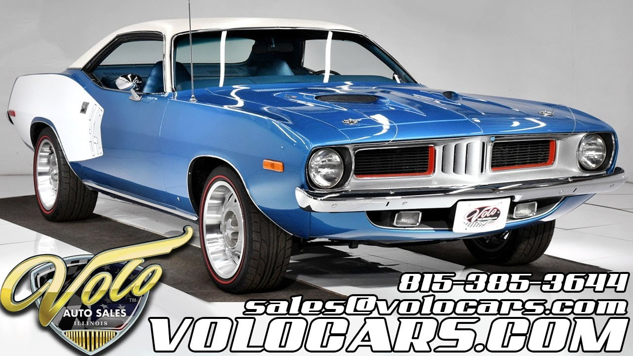 1973 Plymouth Cuda for sale at Volo Auto Museum (V19244)