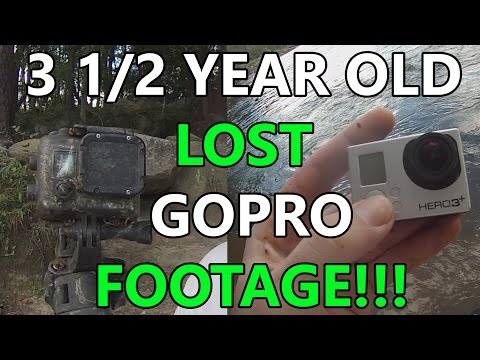 Thumbnail: LOST GoPro FOOTAGE 3 1/2 YEARS IN THE RIVER!!!! (long version)
