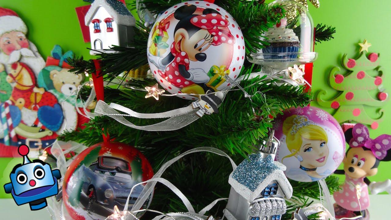 Arbol de navidad con bolas sorpresa disney cupcakes y - Arbol de navidad de bolas ...