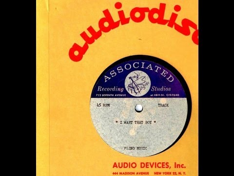 Unreleased songwriters' demo acetate (Sadina) - I WANT THAT BOY  (1965)