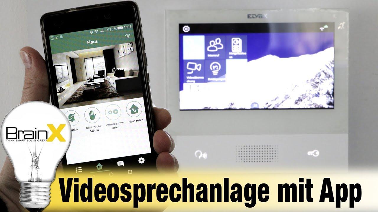 elvox 2 draht videosprechanlage mit app anbindung montageanleitung youtube. Black Bedroom Furniture Sets. Home Design Ideas