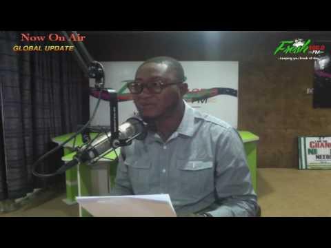 Global Update with (Olufemi Oluwajobi @Officialradiomd )Fresh 105.9 FM Live Streaming