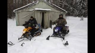 Тур выходного дня на снегоходе в Подмосковье