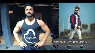My Daily Routine | Gym | Photoshoot | Punjabi Vlog #1 | Aman Aujla