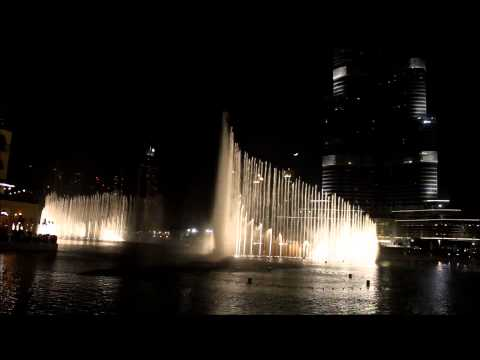 Dubai - Waterfront Fountains