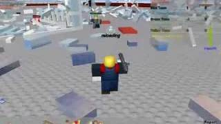 Roblox Bloopers- Battle in Lavawartopolis!