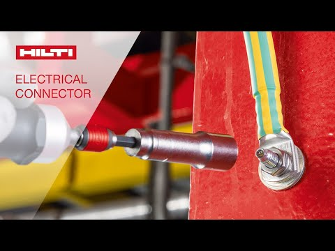 HOW TO fasten the Hilti S-BT HC high current electrical connections fastener on steel