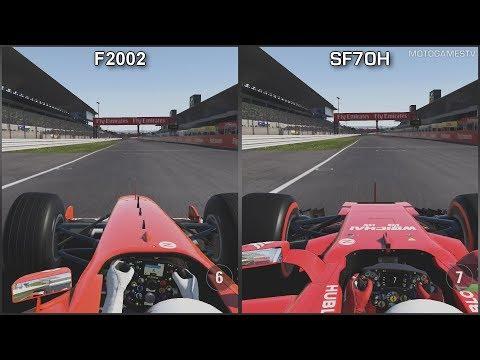 F1 2017 [XOne] - Ferrari F2002 vs Ferrari SF70H at Suzuka