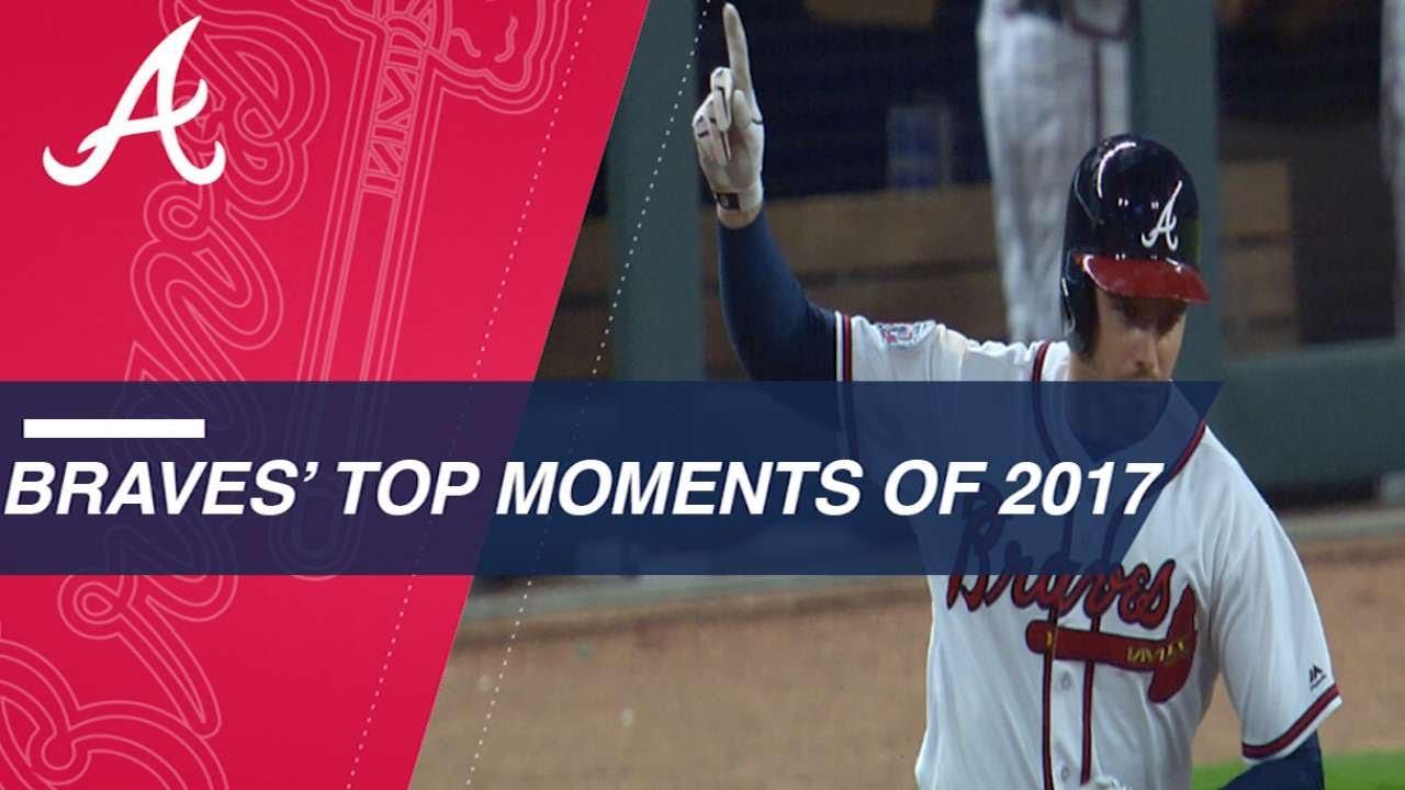 meet b25b7 61dac Top Moments of 2017  Braves. MLB