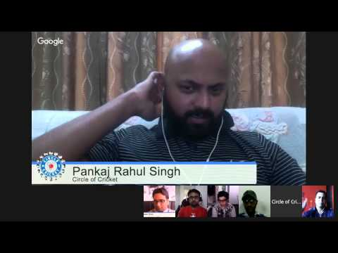 #CricOn Hangout with Apurva Desaii | Dec 2