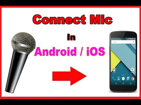 How to connect external mic to android/iOS (Problem Fix)