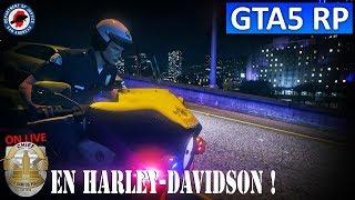 GTA 5 RP : Unité Mary en Harley-Davidson - Serveur SADoJ Life