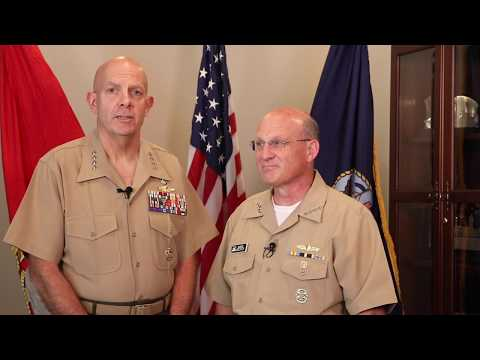 CNO And CMC Navy Birthday Message 2019