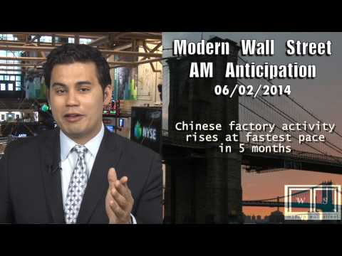 AM Anticipation: Futures rise on China, ISM and Krispy Kreme await
