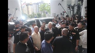 Najib arrives at MACC for 2nd round of questioning