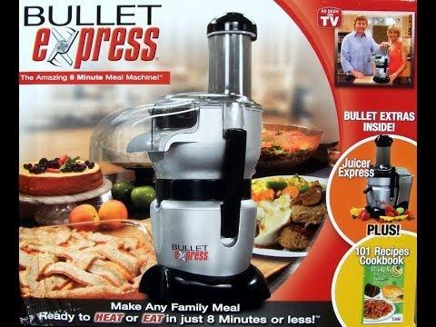 Slow Juicer Vs Bullet : Bullet Express Reveiw Doovi