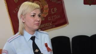«Я помню, я горжусь. Служу России!» - младший лейтенант полиции Екатерина Варенова