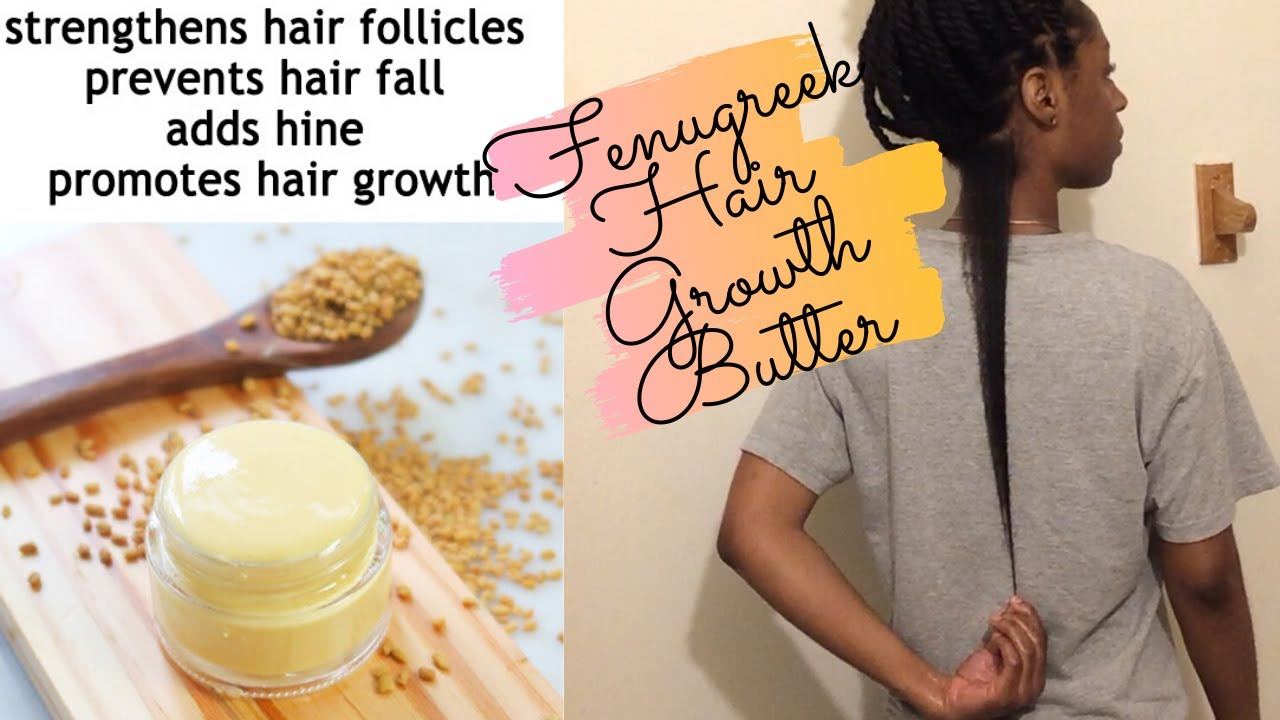 EXTREME Fenugreek Infused Butter Cream For Fast Hair Growth | Grow Long & Thick Hair