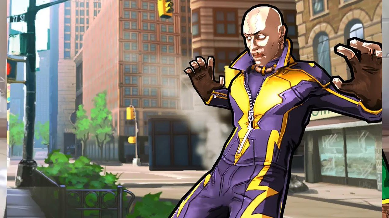 Ultimate Spider Man Game Electro spider-man unlimited: issue 3 ...