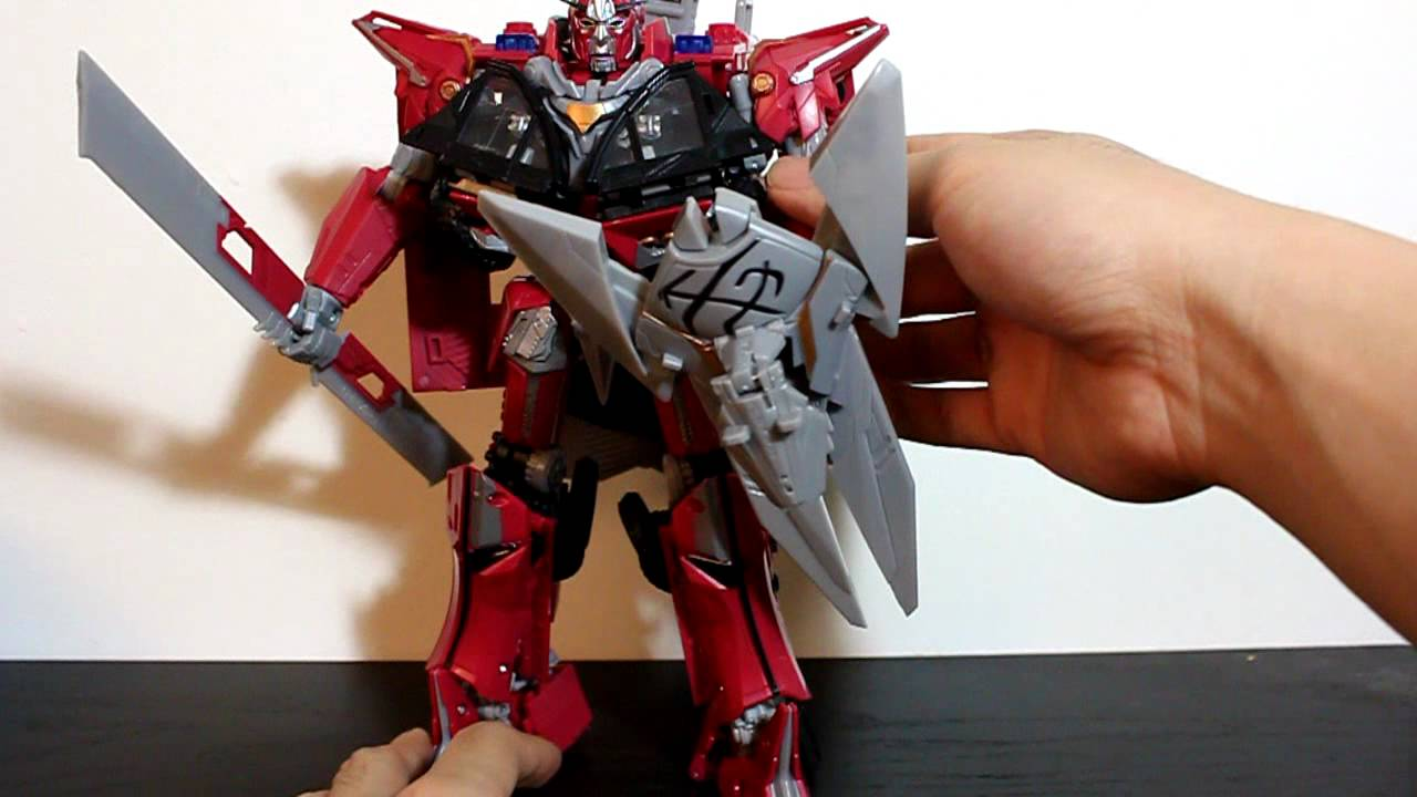 transformers dotm leader class sentinel prime - youtube