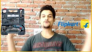Bosch GSB 500 RE Kit from Flipkart | Unboxing & Brief Review | CreatorShed