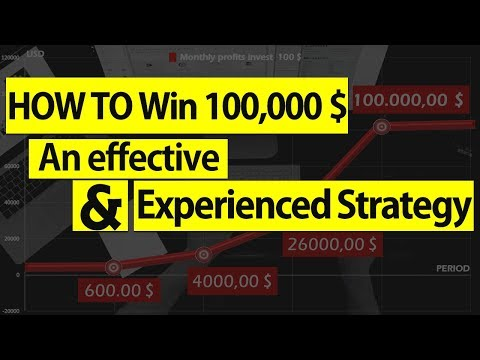 Effective Strategy ... How To Win 100,000 $ in 4 Months and Only invest 100 $ [BETTING - FOOTBALL]