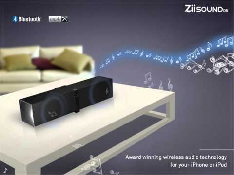 Creative ZiiSound D5 Bluetooth Speakers for iPhone & iPod