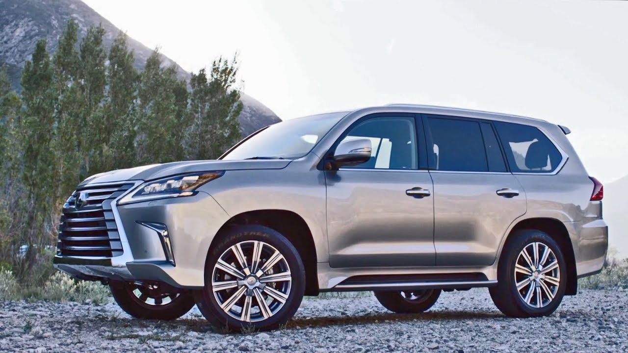 Lexus Lx 570 2016 Premium Big Suv Youtube