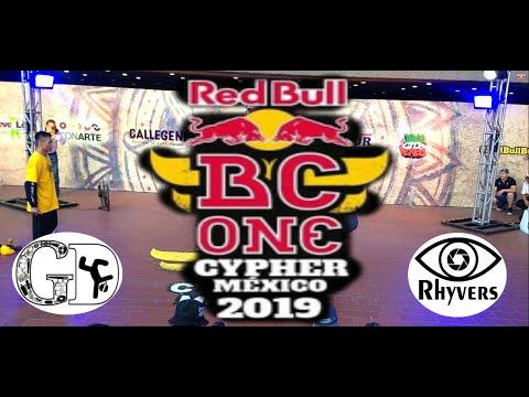 Red Bull BC ONE Cypher México 2019 / Top 8 / Andru Vs Nano Bot.