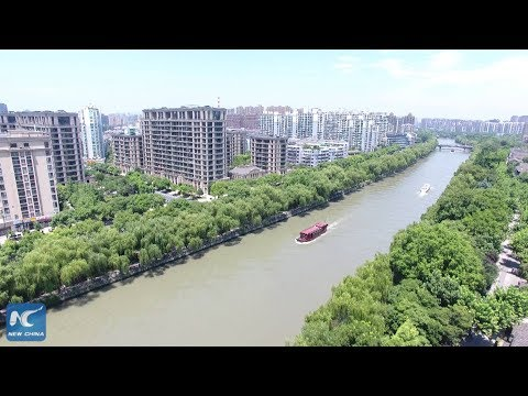 China's Grand Canal in foreigners' eyes