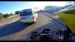 """""""sun pyörä ei oo vakuutuksis"""" - POLIISIT PYSÄYTTÄÄ"""