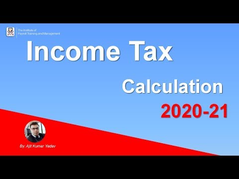 Income Tax Calculator 2019-20 AY 2020-21 In Excel : Easily Explained By AKumar