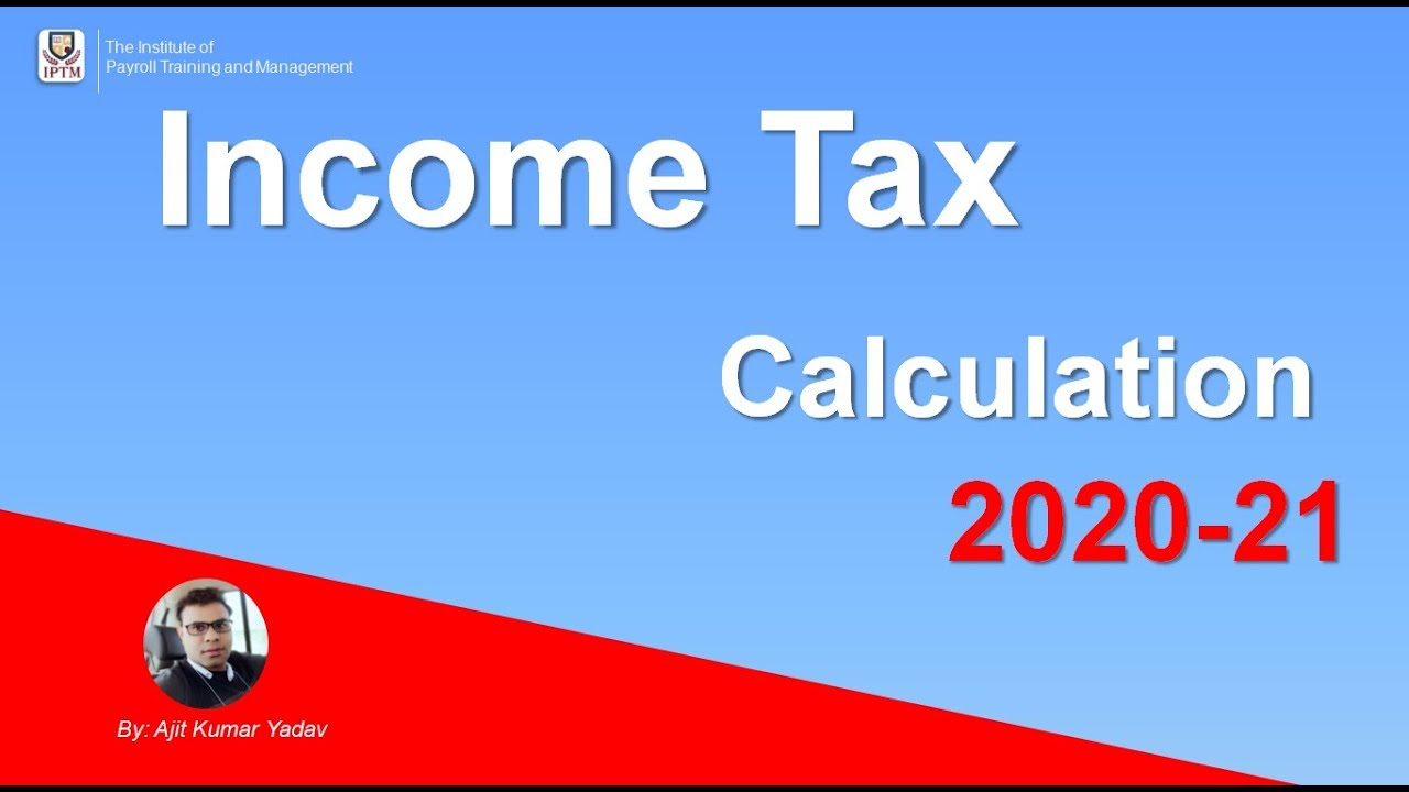 income tax calculator 2019