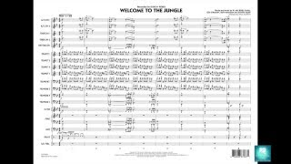 Welcome to the Jungle arranged by Paul Murtha