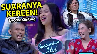 Gambar cover Indonesian Idol 2020 AUDITION 1 - Lyodra Ginting  buat merinding! | REACTION