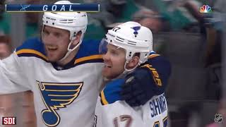 St. Louis Blues - Round 3 Goals