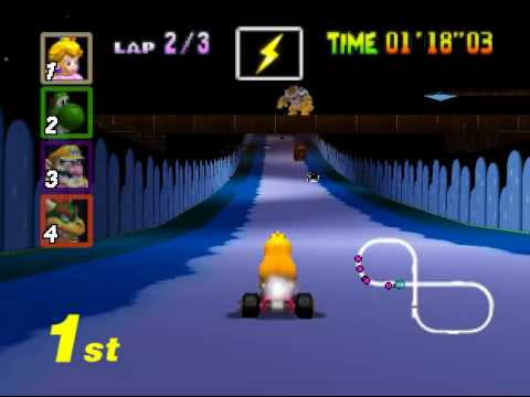 Mario Kart 64 Reloaded Toad S Turnpike Texture Hack Youtube
