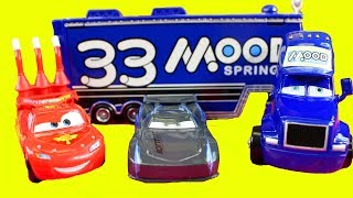 Disney Cars 3 Toy Review Collection Mini Adventures Lightning McQueen Haulers And Talking Mater