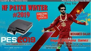 Pes Evolution 2019 PS3 NF Patch Winter Transfer 18-19