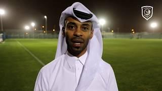 عدنان العلي المدير التنفيذي لنادي الدحيل: ننتظر وقفة جماهير الكرة القطرية.