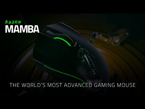 Razer Mamba – the World's Most Advanced Gaming Mouse