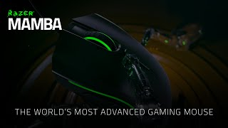 razer mamba the world s most advanced gaming mouse