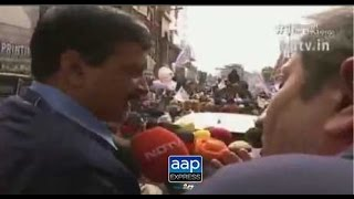 Ravish Kumar I Prime Time I : Arvind Kejriwal Road Show In Patiala